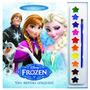 Livro Para Colorir Aquarela Frozen Disney Dcl