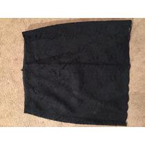 Falda De Oficina De Encaje, Traje Negro, Super Bonita Formal