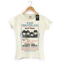 Camiseta Feminina Oficial The Beatles Tickets On Sale Now!