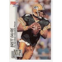 1992 Pro Set Gold Mvps Brett Favre Green Bay Packers