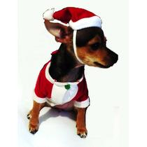 Disfraz Para Mascota Perro Gato Ropa Navidad Santa