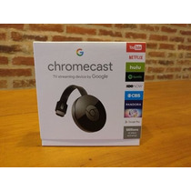 Chromecast 2 (2016) Nuevos Android Apple Celulares Tablets