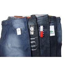 Kit C/ 10 Bermudas Masculinas Jeans Varias Marcas Atacado