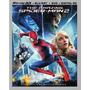Blu-ray Amazing Spiderman 2 3d + 2d + Dvd/ Hombre Araña 2