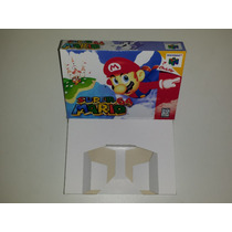 Caixa Super Mario 64 + Berço Incluso, Nintendo 64!!!!