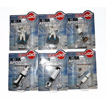 Nasa Apollo 11 Dragon Can.do Escala 1:400 Precio Por 6 Fig