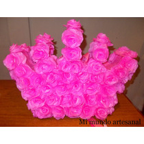 Piñata - Corona - Flores - Rosas - Princesas - Nenas