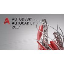 Licencia Autodesk Autocad Lt 2017 1 Usuario 1 Año Windows
