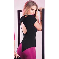 Blusa De Espalda Descubierta Sexy Top 71256 Vicky Form