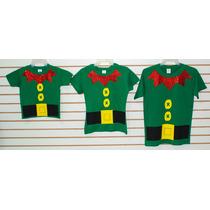 Playeras Para Navidad Elfo, Duende