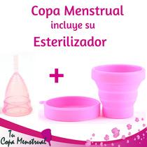Copa Menstrual Aneer Solidaria L-s, Incluye Su Esterilizador