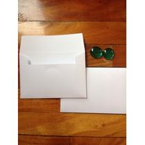 Sobres Invitaciones Blancos Boda 19x13. Opalina 150grs