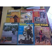 Lote Com 32 Revistas Duas Rodas Edições Antigas Anos 70
