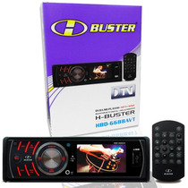 Dvd Player H-buster Hbd-6688avt C/ Tv Digital Lcd 2.7 Remanu