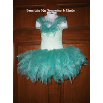 Lindisimo Vestido Dress Tutu, Para Niñas 3 A 5 Años