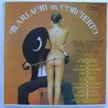 Gran Mariachi Instrumental Nuevo Tecalitla 1 Disco Lp Vinilo