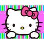 Kit Imprimible Hello Kitty Candy Bar Tarjetas Y Mas