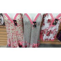 Batas De Dormir Sexys Estampadas Short Y Blusa