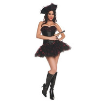 Disfraz Mujer Pirata Sexy Halloween Adulto