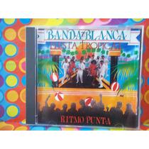 Banda Blanca Cd Fiesta Tropical,ritmo Punta 1991 Canada