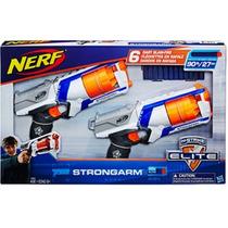 Nerf Pistola Dardos Paquete Con 2 Pistolas Y 12 Dardos