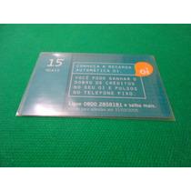 Cartão Pré Pago - Recarga Automática - Oi - Nº 716