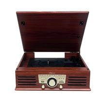 Toca Disco Ctx Harmony Retro Usb Sd Radio Fm - Vitrola
