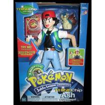 Pokemon - Ash & Cindaquil - Figuras Com Modulo Chip Hasbro