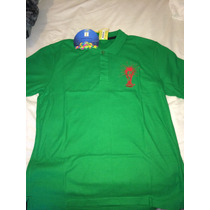 Playera Polo Marca Fifa World Cup Para Caballero Tall G Rm4