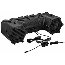 Bocinas Marinas Boss Atv28b 450w Cuatrimotos Bluetooth