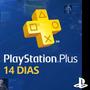 Playstation Plus 14 Dias | Ps4