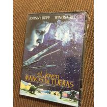 El Joven Manos De Tijeras Dvd Johnny Depp Winona Ryder Nueva