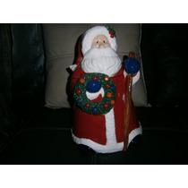 Galletero De Ceramica De Santa Claus