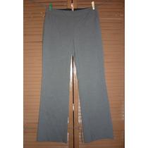 Pantalon De Vestir Isaac Mizrahi Stretch Gris Talla 6