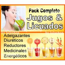 Jugoterapia, Fruta Líquida Smoothie Licuados Dietas