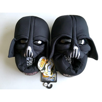Star Wars Pantunflas Darth Vader Disney Niño Niña Remate