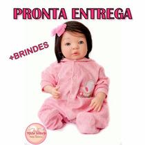 Bebê Reborn Yasmin/tatá Linda Pronta Entrega+ Kanguru