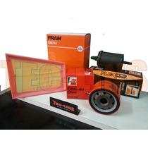 Kit De Filtros Ar Oleo Combustivel Clio / Scenic1.6 16v Flex