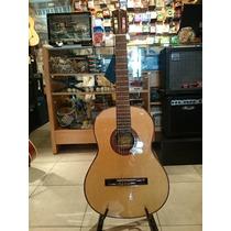 Guitarra Clasica Gracia Mod. D Con Tapa Maciza De Concierto