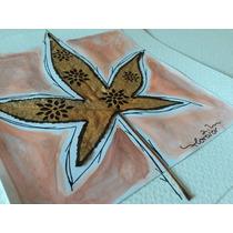 Cuadros Decorativos Con Flores Y Hojas Naturales.