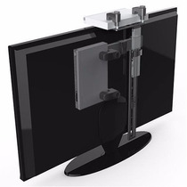 Soporte Dvd Adosable Al Tv Conversor Decodificador Plegable