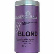 Magnific Hair Pó Descolorante Ultra Rápido Roxa 500g