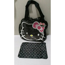 Bolso Cartera Grande Transparente Hello Kitty Tienda Chacao