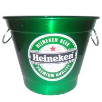 Balde Para Gelo Em Aluminio 5,5 Litros Cerveja Heineken