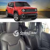 Banco De Couro Jeep Renegade Sport - Padrão Montadora 70% Co