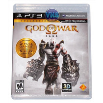God Of War Saga Collection - 5 Jogos - Novo - Lacrado!