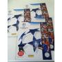 Lote De 4 Álbumes De Figuritas Champions League 2012-2013