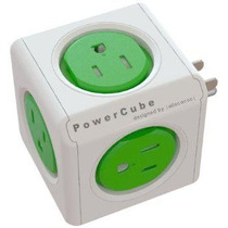 Multicontacto Power Cube Elegante De Diseñador