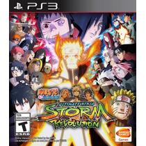 Jogo Novo Naruto Ultimate Ninja Storm Revolution Para Ps3