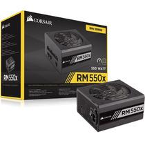 Fonte Corsair Rm550x Modular 80 Plus Gold 550w - Rm Series